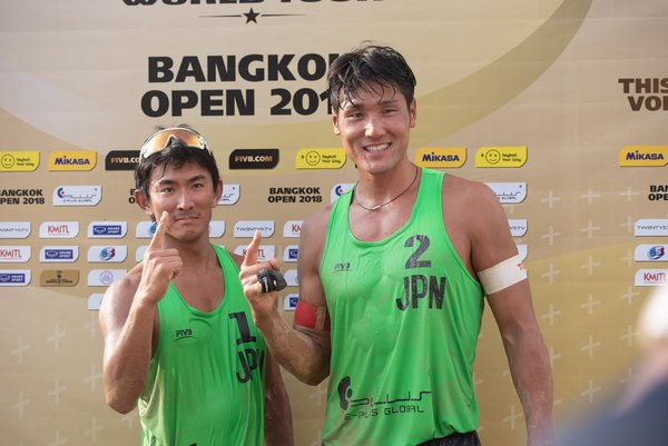Emphatic Wins For Japan, United States at Bangkok Open