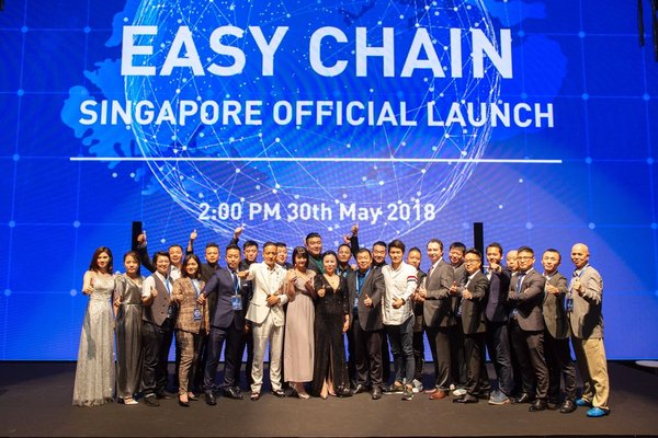 Easy Chain Launches Officially in Singapore
