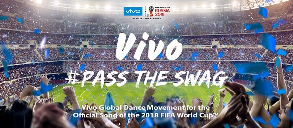 #PassTheSwag to the Official Song of the 2018 FIFA World Cup by Nicky Jam, Will Smith and Era Istrefi with Vivo