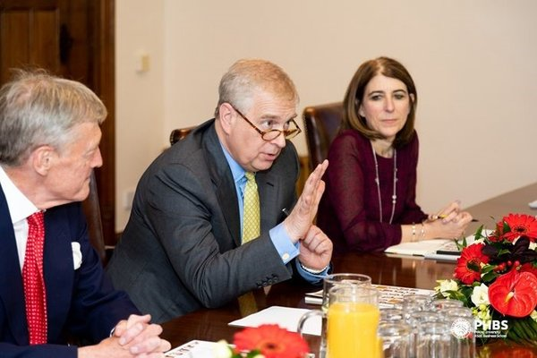 HRH The Duke of York remarks on the meeting to point out the importance of promoting cultural and social communications among nations