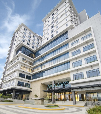 Maayo Hotel and Maayo Well is Cebu's first 4-star hotel and wellness complex, combining top-of-the-line hotel services, game-changing integrative medicine, and professional aesthetic services in one world-class facility.