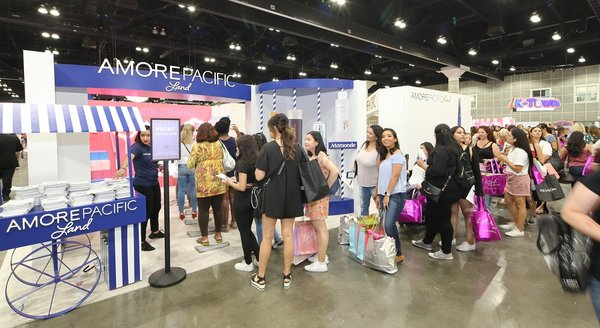 Global Beauty Company Amorepacific Proves itself as K-Beauty Leader at Beautycon