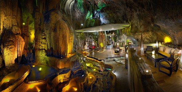 Dine in Jeff's Cellar at The Banjaran - rated one of the most magnificent bars in the world by CNN Greece
