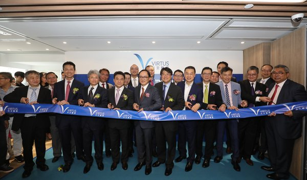 Dr Manson Fok, Chairman of Virtus Medical, Mr Samuel Poon, Chief Executive Officer of Virtus Medical, along with the Virtus Medical team hosted a ribbon cutting ceremony of Virtus Medical Tower.