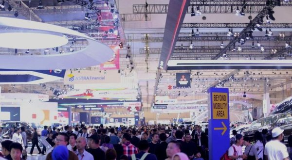 The 2018 GAIKINDO Indonesia International Auto Show (GIIAS) automotive exhibition was reopened at ICE BSD Tangerang, Banten, Indonesia.