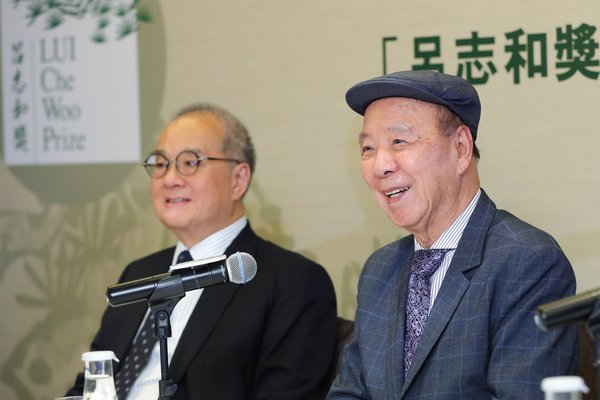 Dr. Lui Che Woo thanks everyone in helping to shape the LUI Che Woo Prize for the past three years, and urges for continual support from the public and beyond to join hands in making the world a better place for all.