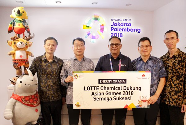 JONGWON KANG, president director (LCTN) YONGHO KIM, president director (LCI) HASANI ABDULGANI, Director of marketing department (INASGOC) KWANHO LEE, managing director (LCI) JOJOK HADRIJANTO, plant manager (LCTN)