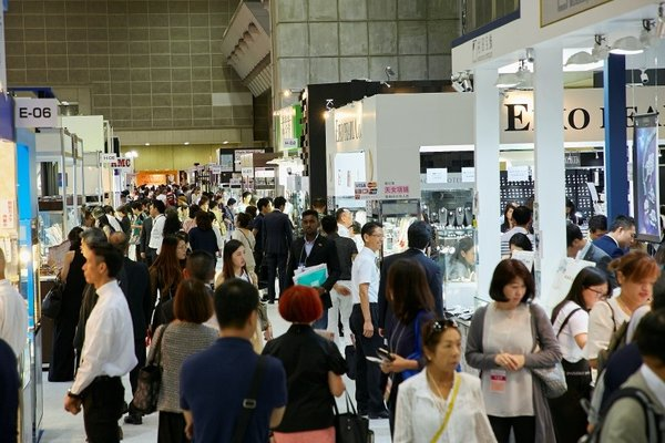 The 26th edition of Japan Jewellery Fair opened the floor today
