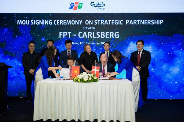 FPT has officially become Carlsberg's technology partner, providing Information Technology (IT) as well as Digital Transformation (DT) services