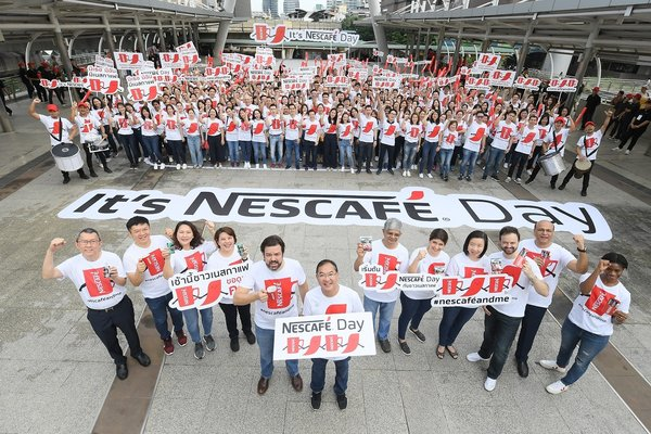NESCAFE gives away 1 million cups of coffee in 4 countries