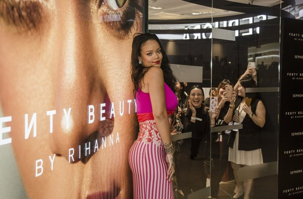 Rihanna Visits Southeast Asia to Celebrate Fenty Beauty & Fans Go Wild