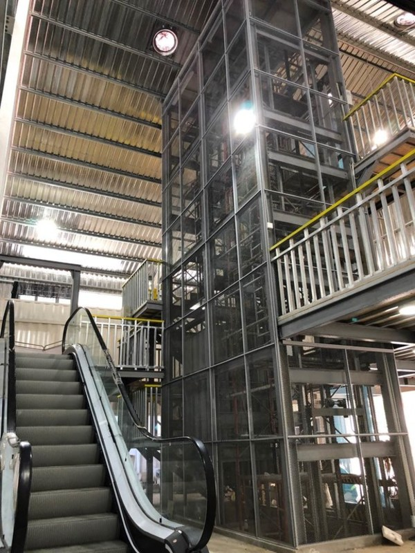 The Training Centre is equipped with two elevator shafts and one escalator to train engineers and field technicians on the latest installation methods, maintenance processes and safety standards.
