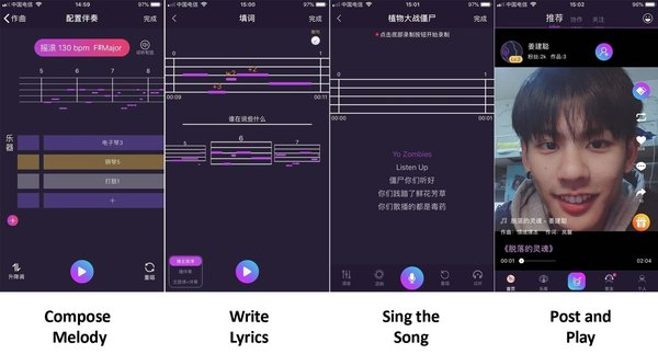The Zing app composition function interface