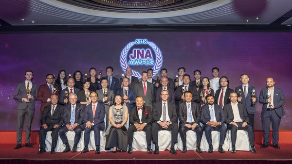 The JNA Awards 2018 Ceremony and Gala Dinner was successfully held on 17 September, with 16 Recipients being honoured across 13 categories. Close to 500 industry leaders and elites from around the world attended the event.