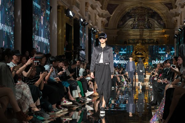 Sands Macao Fashion Week included the launch of the Emporio Armani Fall/Winter 2018 collection.