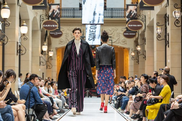 The Parisian Macao's Avenue des Champs-Elysees was transformed into an extended catwalk for Sands Macao Fashion Week, with live shows showcasing the latest looks from a selection of stores.