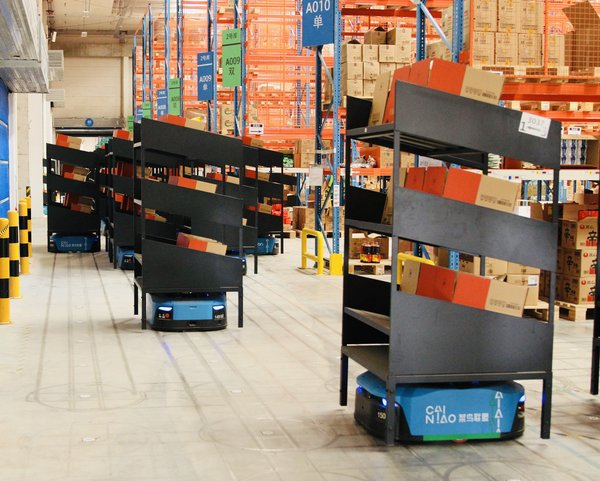 Cainiao's New Smart Warehouse Powered by Robots, IoT