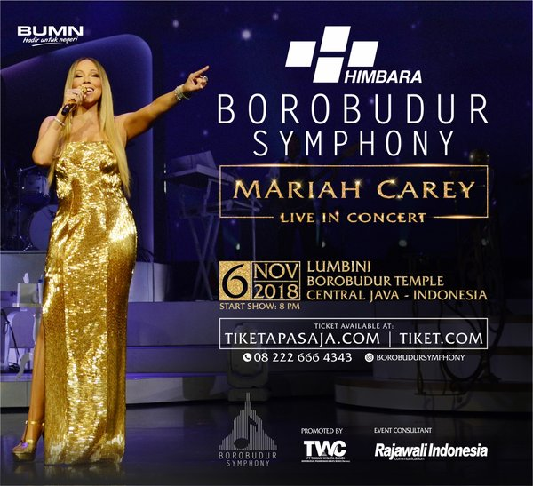 The outstanding music performer will bring together the heritage masterpiece of Borobudur to make magical experiences of music lovers.