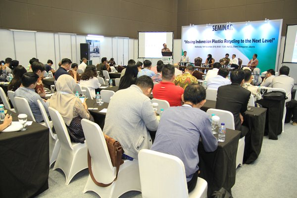 "Session of ""Moving Indonesian Plastics Recycling to the Next Level"""