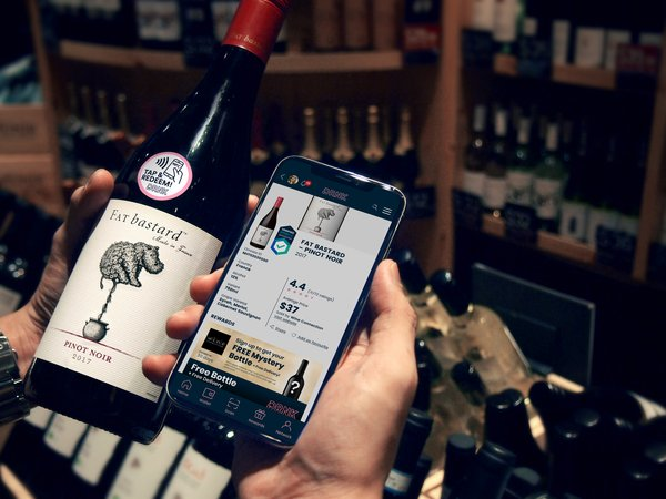Tap or scan the DRNK Tag, see all the product information and get exclusive rewards.