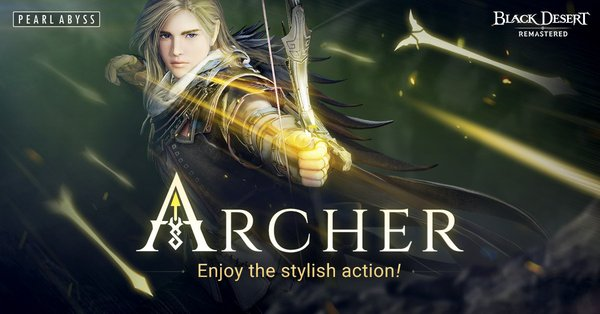 The highly anticipated Archer class is now available to play in Black Desert Online