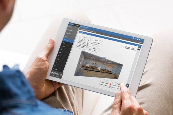 Johnson Controls' Metasys 10.0 system offers enhanced integration and automation features for smart building management.
