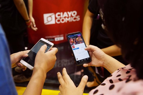 CIAYO Comics is targeting to increase readers by 100 to 120 percent in 2019