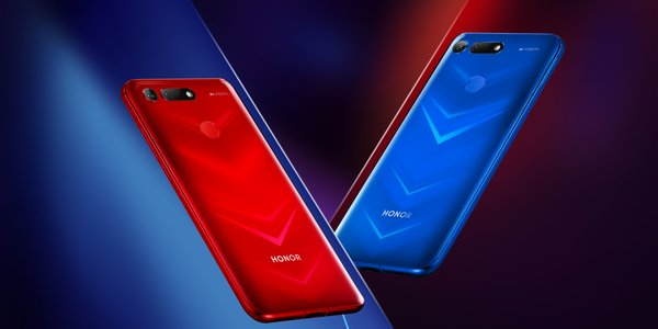 honor view20 phantom red phantom blue