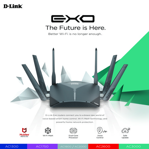 D-Link Exo Router Series