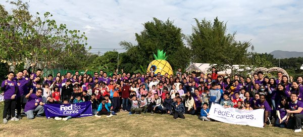 FedEx Volunteers Promote Well-Being and Development of Local Children as Part of FedEx Cares Program