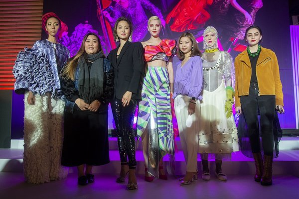 SCAD alumni designs showcased at the Hong Kong Fashion Showcase 2019, Credit: SCAD Hong Kong