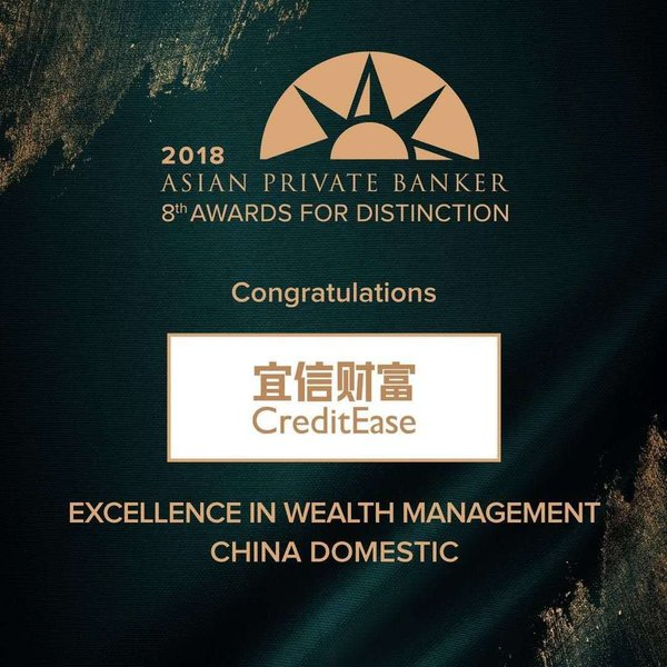 Excellence Wealth Manager (China Domestic categories)