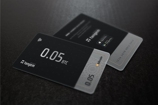 Tangem blockchain smart card wallets