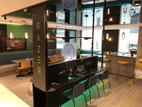 ATLASPACE partnered with Razer to launch Gaming Experience Zone at Co-working Space