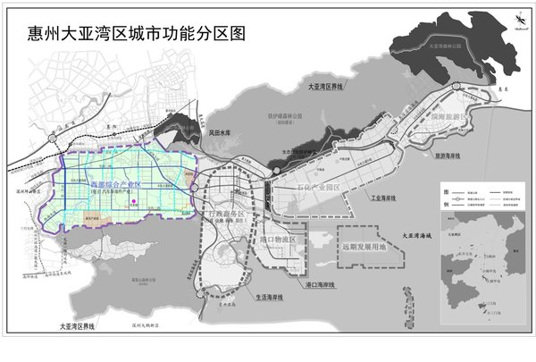Planned Place for USI Huizhou Plant Located in Western Comprehensive Industrial Zone (Source: Huizhou Daya Bay Economic and Technological Development Zone Bureau of Investment Promotion)