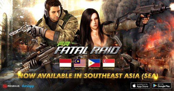 Fatal Raid: SEA Invasion is now available in Indonesia, Malaysia, Philippines, Singapore.