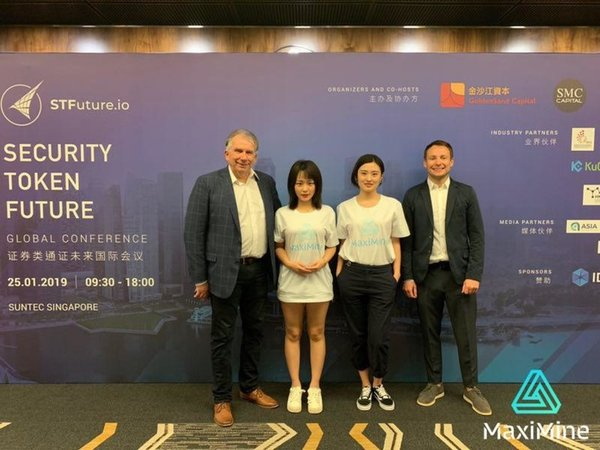 MaxiMine at the Security Token Future Global Conference in Singapore