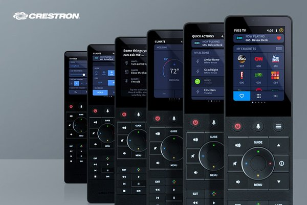 New Crestron Performance UI Delivers Stunning User