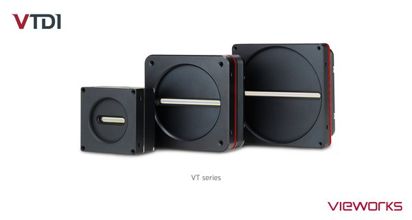 Vieworks' High Sensitivity & High Speed TDI Line Scan Camera Series - VT Series
