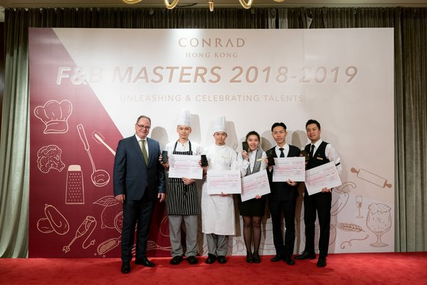 Winners were selected to represent Conrad Hong Kong and realize their potential in the regional finals in South China