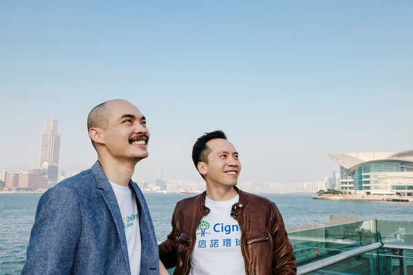 Cigna Plus Medical Plan health insurance product is now available on the new digital platform powered by OneDegree Global Limited. (Left to right) Mr. Alex Leung, co-founder, OneDegree Global Limited; Mr. Yuman Chan, CEO and Country Manager, Cigna Hong Kong.