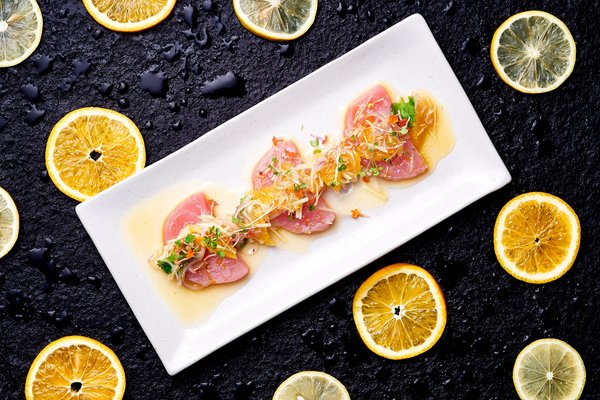 Tuna Crudo from the finest quality source