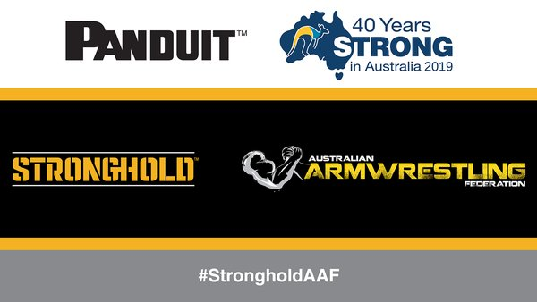 Panduit is the major sponsor of the Australian Armwrestling Federation (AAF).