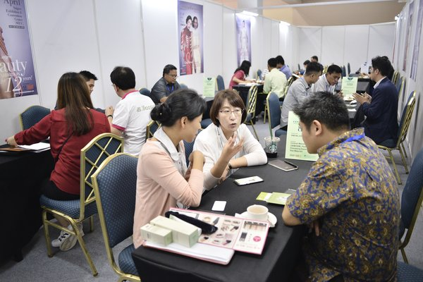 Business Matching Programme at Cosmobeaute Indonesia