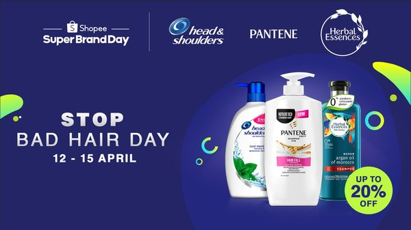 P&G Launches 1st Shopee Regional Super Brand Day with 'Stop Bad Hair Day' Campaign