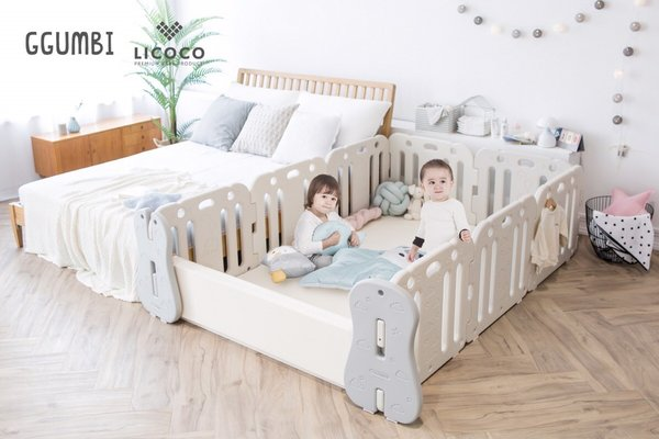 Popular in Korea, GGUMBI Recently Launched its 3-in-1 Baby Room on Various E-Commerce Platforms in China