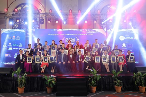 Winners for Global Business Leadership Awards 2019