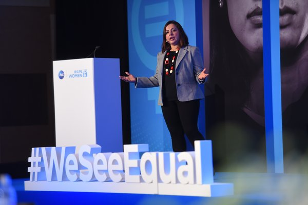 Balaka Niyazee, Vice President, P&G Korea, and Gender Equality Sponsor officiated the P&G APAC #WeSeeEqual Summit 2019 with a powerful speech on gender myths.