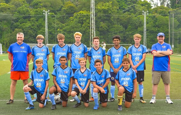 Crown Equipment assists Singapore Youths with ANZA Soccer Sponsorship