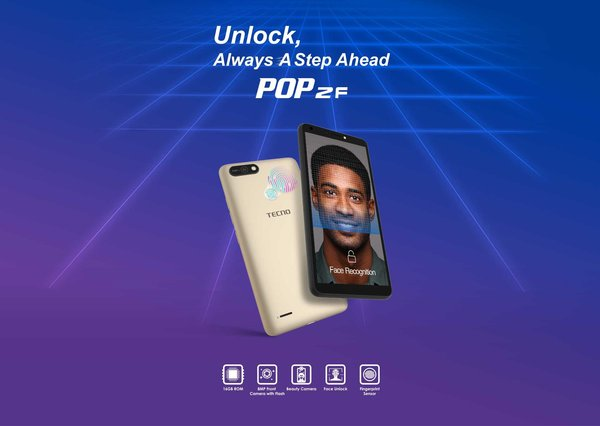 TECNO launched POP 2F to provide wider smartphone choices